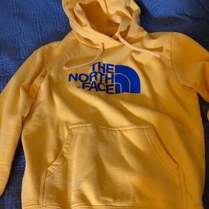 The north face hoodie/sweater